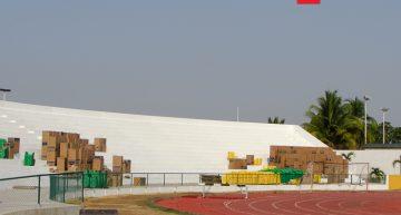 Comenzarán a colocar las butacas al Estadio Olímpico Universitario
