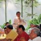 Rector convive con jubilados y pensionados de Tecomán