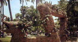 La Serpiente de Fuego, escultura monumental en el Núñez