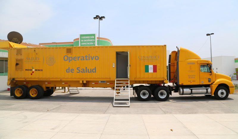 Unidad de comando para la seguridad en Salud llega a Manzanillo