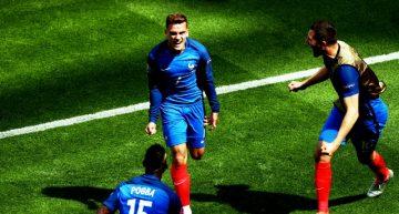 Francia remontó para avanzar a Cuartos de Eurocopa, Griezmann hizo doblete