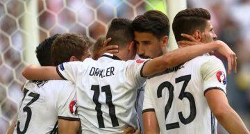 Alemania responde a los pronósticos vence 3-0 a Eslovaquia en Octavos de Final