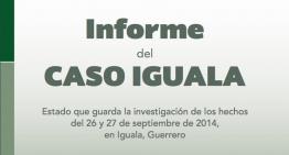 PGR hace público en su sitio web un informe del caso Iguala
