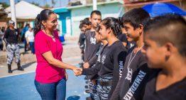 Comando de reacción agradece apoyos a Gaby Benavides