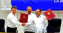 Este día, Estado colombiano y las FARC acuerdan cese al fuego y hostilidades