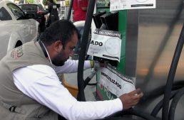 Profeco inmoviliza 934 mangueras de gasolina en el país