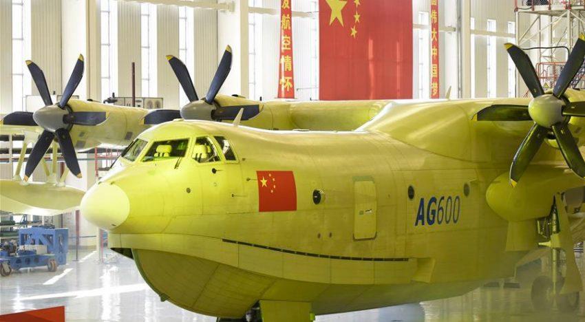 El avión anfibio más grande del mundo