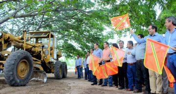 Nacho pone en marcha obras con inversión superior a 8 mdp