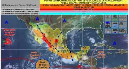 Nublados y lluvias en la mayor parte del territorio mexicano: SMN
