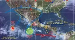 Nublados y lluvias en la mayoría de las entidades del país: SMN