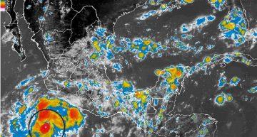 Se desarrolla Tormenta Tropical Frank frente a costas de Manzanillo