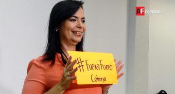 Leticia Zepeda presenta iniciativa para quitar fuero a funcionarios