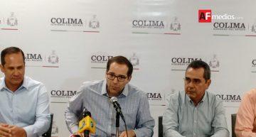 Gobernador de Colima anuncia venta de avión de gobierno