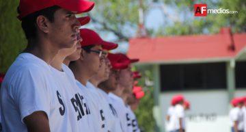 Cada año, más de 400 jóvenes concluyen el Servicio Militar Nacional en Colima