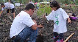 Campaña Nacional de Reforestación arrancó en Los Asmoles