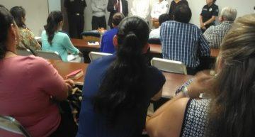 INM, PF y SEGOB capacitan a funcionarios para prevenir trata de personas