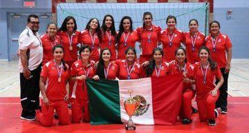 Oro y plata para selecciones mexicanas de Handball en Trofeo IHF de Norteamérica