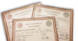 Oficinas consulares expedirán actas del Registro Civil