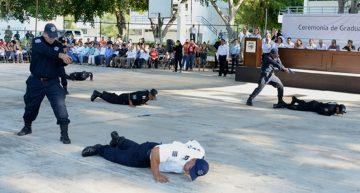 106 policías estatales y municipales concluyen