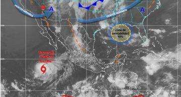 Temperaturas calurosas durante el día y probabilidad de lluvia para Colima: SMN