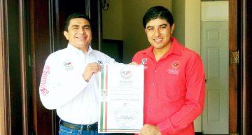 Sergio  Rodríguez nuevo Secretario de la Juventud Territorial del MT del PRI
