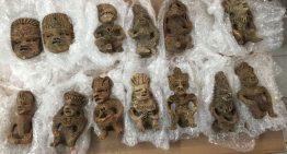 PF asegura figuras arqueológicas en Jalisco, tenían como destino Colima