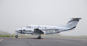 Avión de gobierno del estado vuela rumbo a su revisión final para cerrar compra-venta