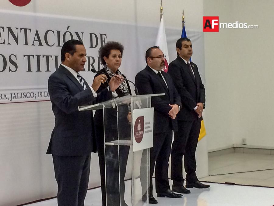 Se consuman cambios en Fiscalía General de Jalisco