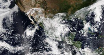 Seguirán las lluvias para los estados del occidente de México: SMN