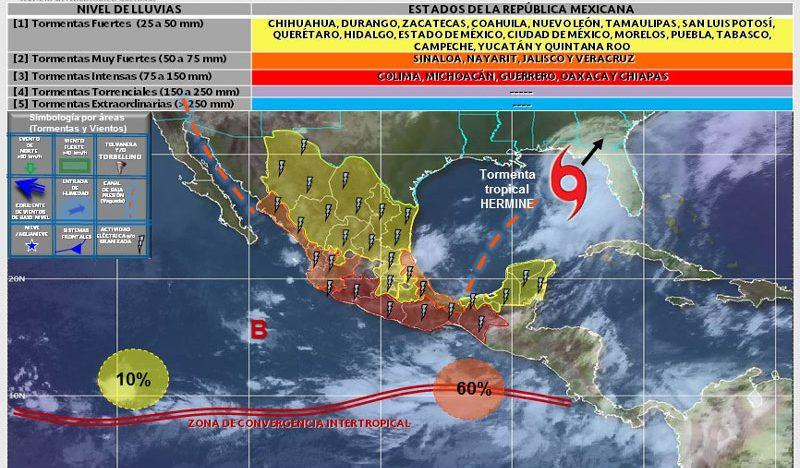 Huracán Newton acecha BCS y Sonora