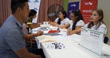Ofrecen 18 empresas 500 vacantes en la Feria de Empleo para jóvenes