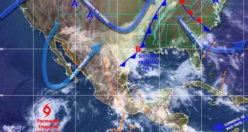 Nublados y lluvias en algunas zonas de Colima; también temperaturas cálidas: SMN