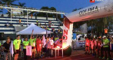 Más de medio millar participaron en medio maratón Manzanillo 2016