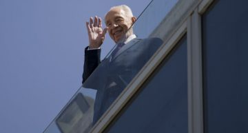Muere a los 93 años Simón Peres
