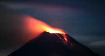 Protección Civil incrementa exclusión a 10 km por actividad del volcán