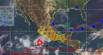 Temperatura calurosa durante el día y probabilidad de lluvia: CONAGUA