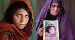 Afgana famosa por portada de National Geographic arrestada en Pakistán