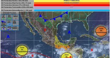 Cielo medio nublado y altas temperaturas para Colima: SMN