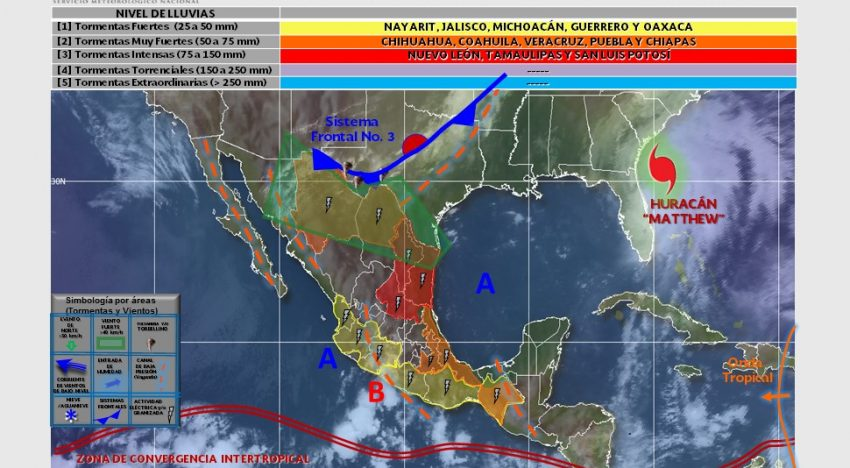MÉXICO: Jalisco presentará lluvias y temperaturas más frescas