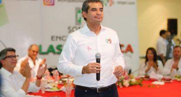 Enrique Ochoa reitera combate a corrupción e impunidad, refiere casos de Duarte y Padrés