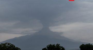 Volcán de Colima genera explosión menor a 2 km: PC Nacional