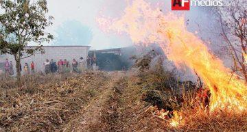 Cerca de 6 mil hectáreas afectadas por incendios este año en el estado de Colima