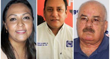 Julia Jiménez, Pedro Palomera y Enrique Michel por la presidencia del PAN