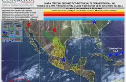 Temperaturas cálidas y probabilidad de nublados aislados por la tarde en Colima: SMN