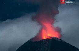 Explosión de Volcán generó caída de ceniza en Comala y Jalisco