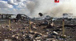 Suman ya 32 muertos, 12 desaparecidos y 60 lesionados por explosión en Tultepec