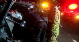 Dos accidentes con saldo de 4 lesionados y 1 fallecido en Mzllo y Colima