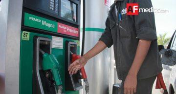 En Colima, Premium y Diésel baja un centavo, Magna sin cambio