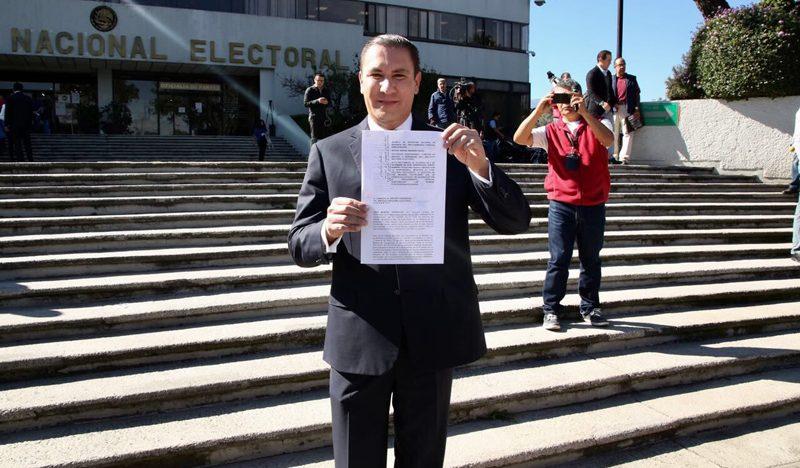 Moreno Valle presenta recurso contra decisión del INE sobre spots