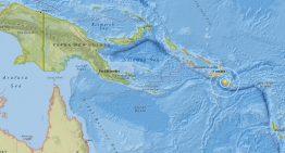 Islas Salomón se sacuden tras sismo de 5.5 grados